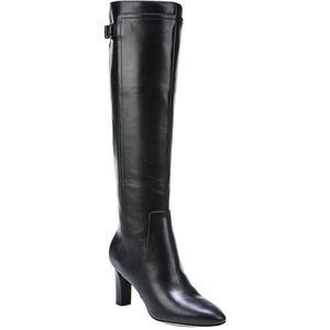 NEW Via Spiga Parca Leather Knee High Boot